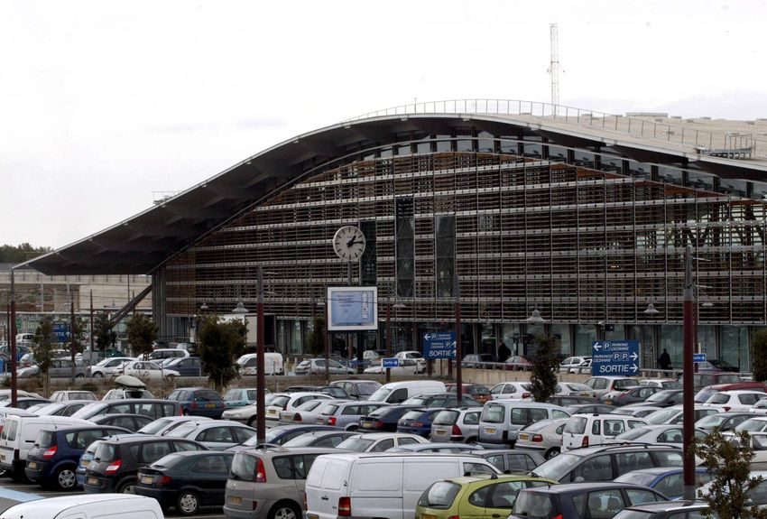 Plan des arrêts de bus PAAP / Gare TGV