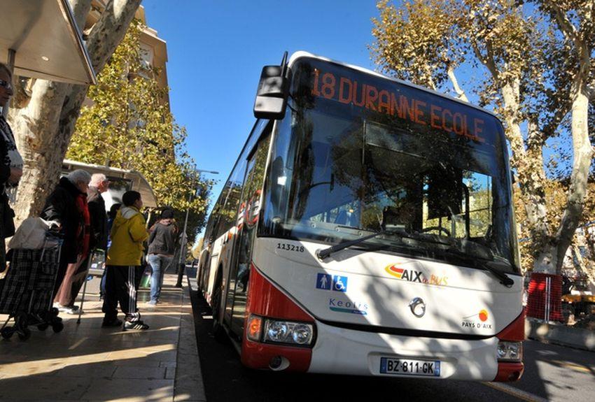 Plan des arrêts de bus du PAAP : lignes régulières + Flexibus