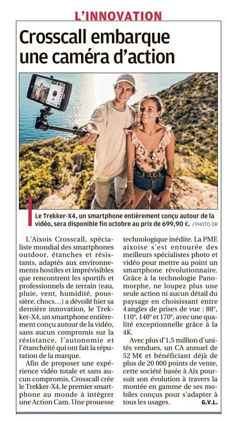 Article la Provence du 4 octobre 2018