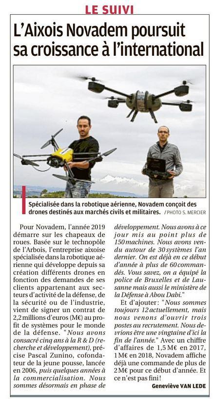 Article la Provence du 19 janvier 2019