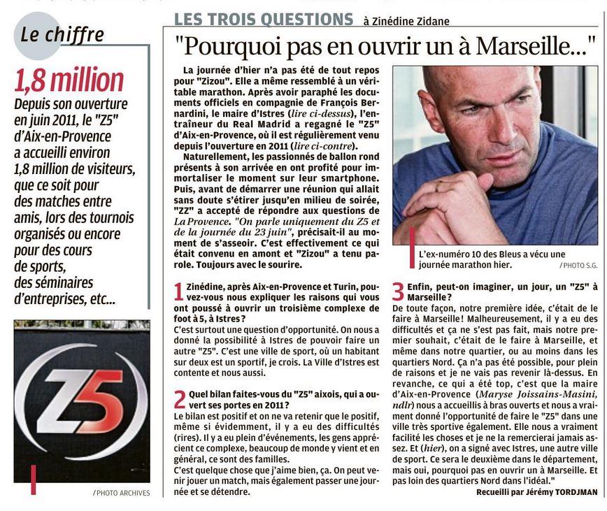 Article la Provence du 28 mars 2019