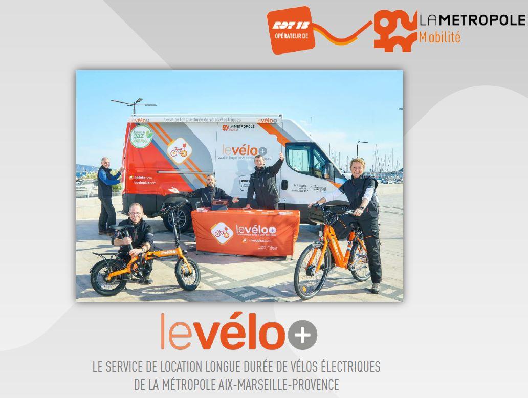 le nouveau service métropolitain de location de vélos électriques en location longue durée : levélo+