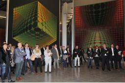 Visite de la Fondation Vasarely